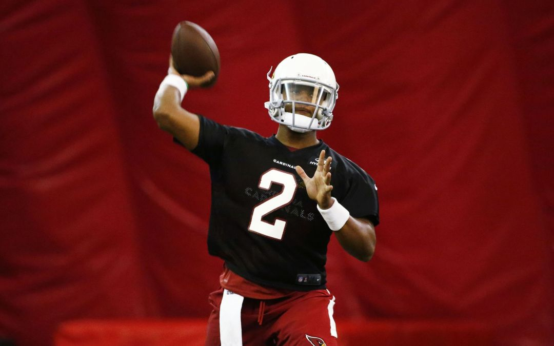 Arizona Cardinals plan to use their large collection of quarterbacks