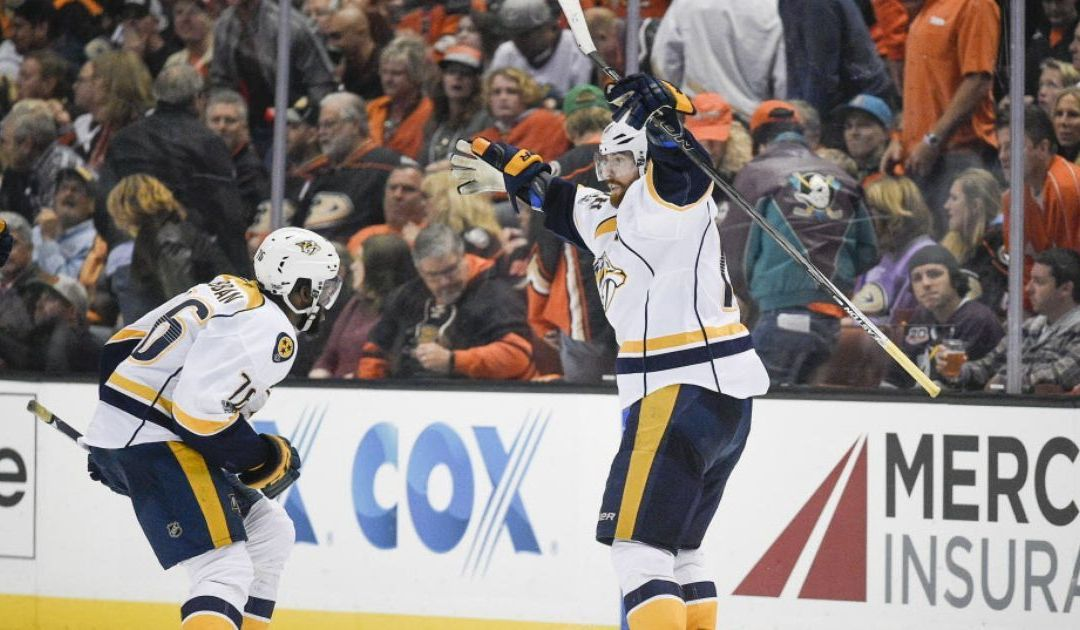 James Neal lifts Predators past Ducks in OT of Game 1 of West final