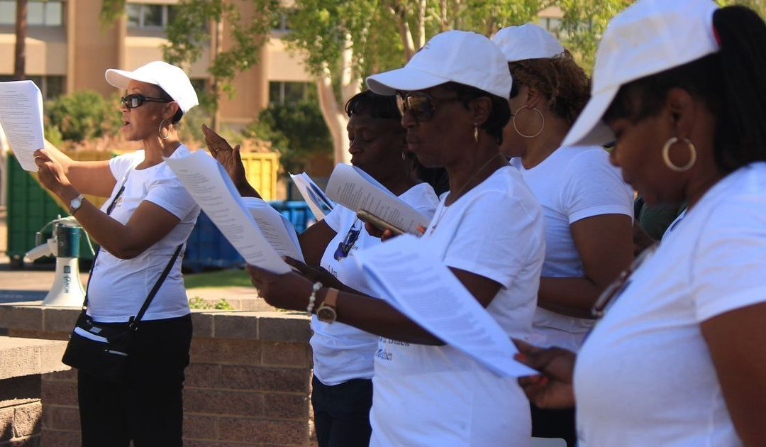 Phoenix black mothers group marches, prays for end to violence, oppression