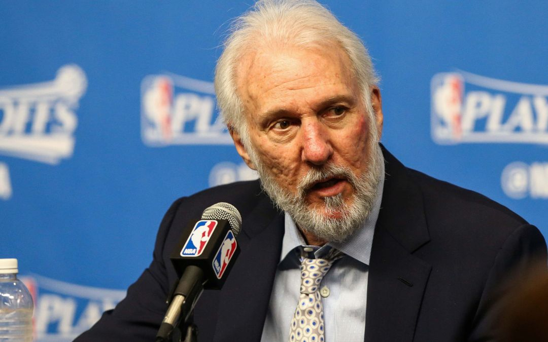 Spurs' Gregg Popovich criticizes 'embarrassing' President Trump