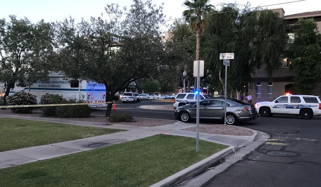 1 shot in officer-involved shooting in downtown Phoenix