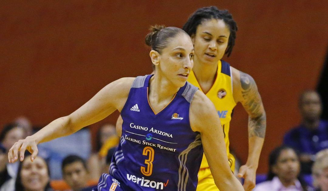 Taurasi returns from suspension hoping back feels better
