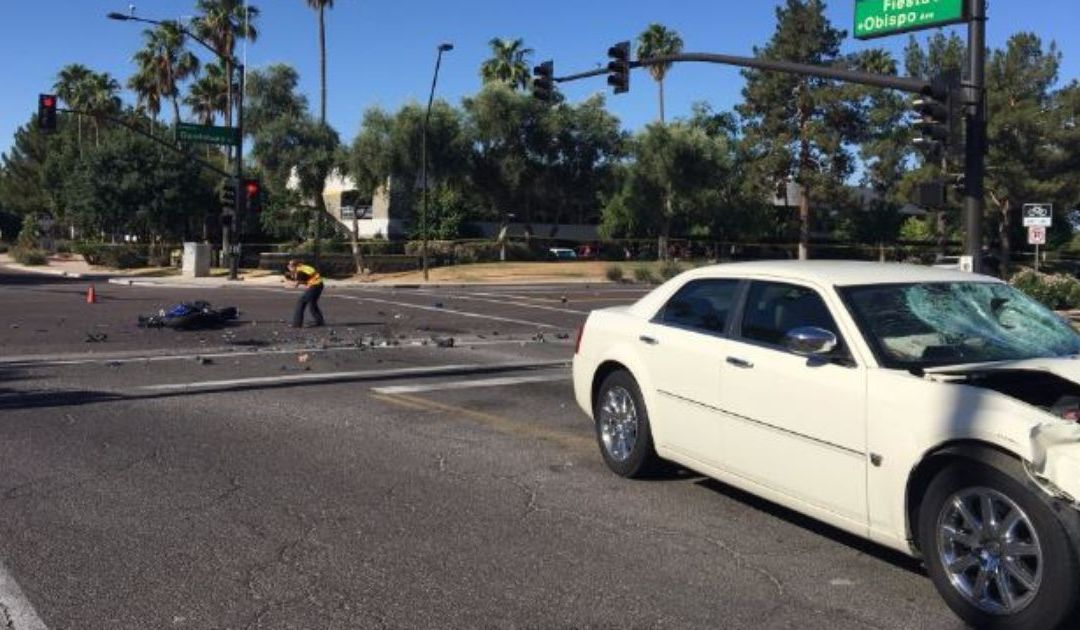 Guadalupe Road closed in Gilbert after motorcyclist killed in crash