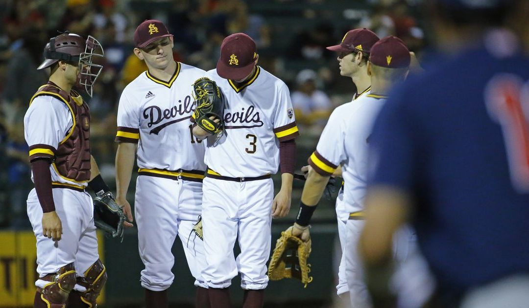 No. 19 Arizona baseball completes first sweep at ASU since 1989