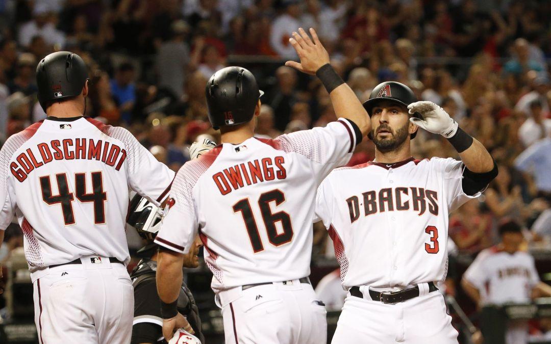 Daniel Descalso homer gives Diamondbacks lead