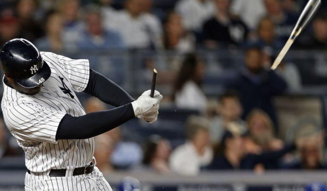 Boy struck in head by Chris Carter's broken bat at Yankees game