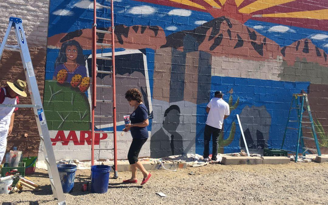 Raúl Héctor Castro, Ed Pastor featured in mural honoring Latinos