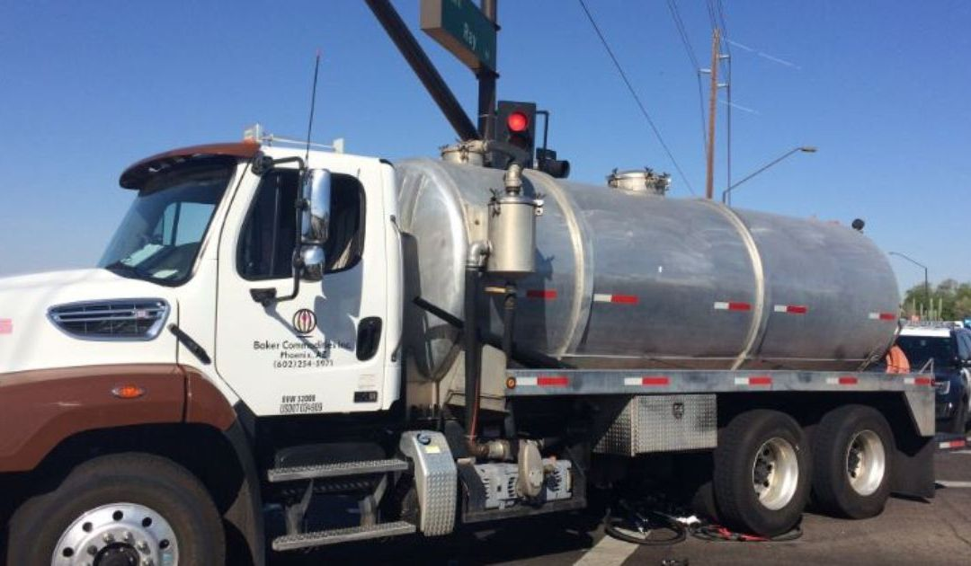 Collision between bicycle, commercial truck turns deadly in Gilbert
