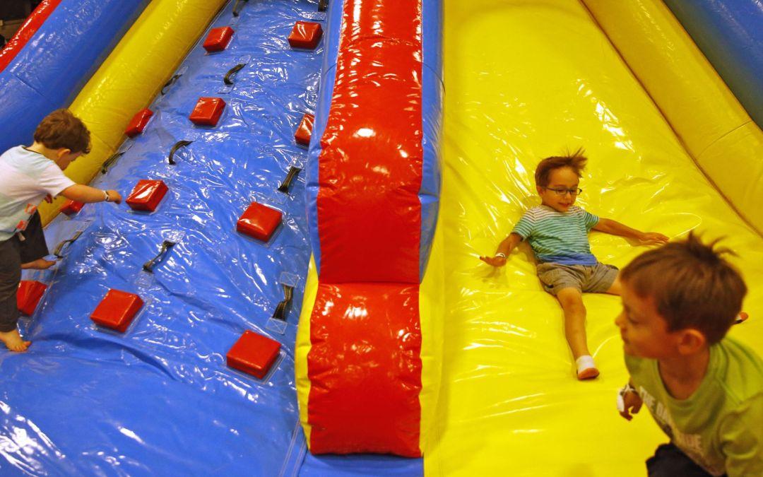 Summer fun indoors at Backyard Games Day at WestWorld of Scottsdale