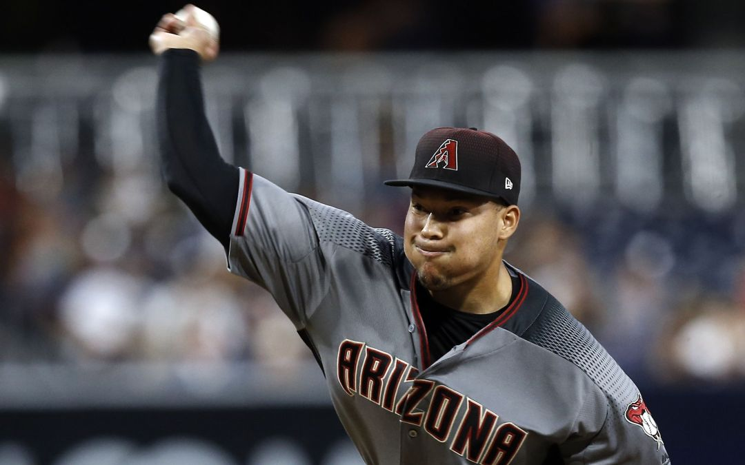 Diamondbacks turn to Delgado for Friday's start against Brewers