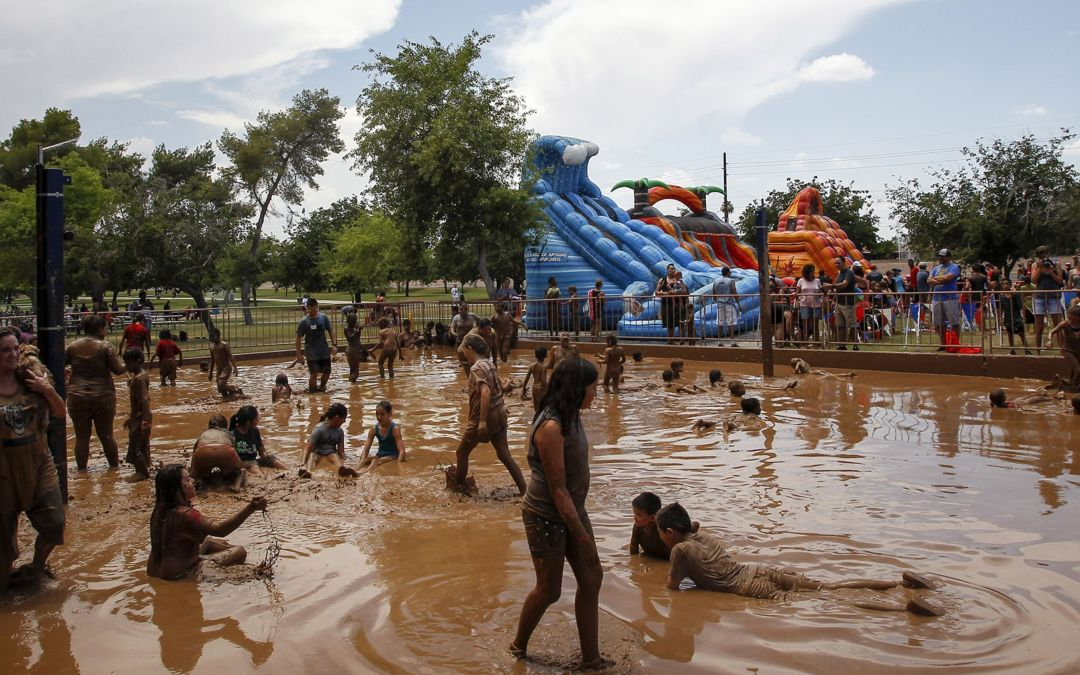 Mighty Mud Mania wants kids to play dirty