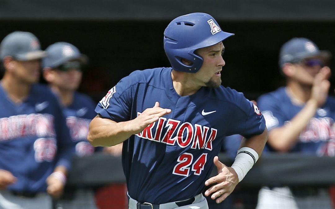 Arizona baseball tops Delaware to stay alive in NCAA regional