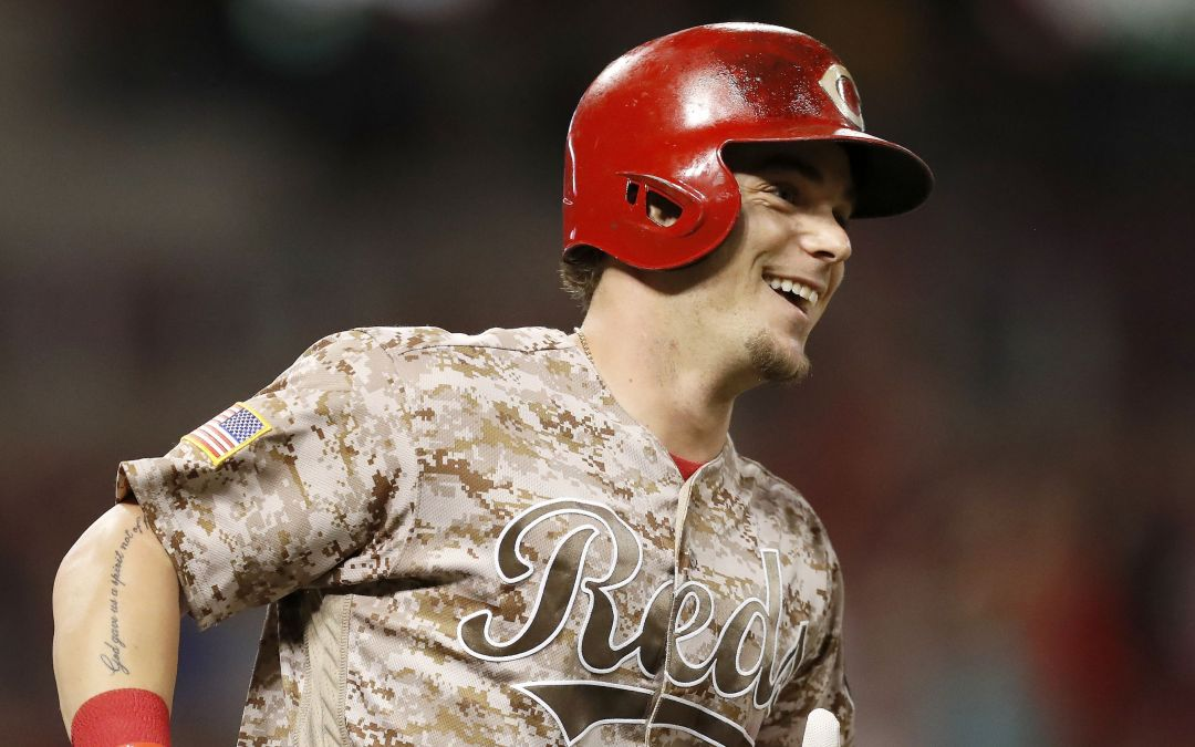 Scooter Gennett's four-home run night: An only-in-baseball 'miracle' for Red