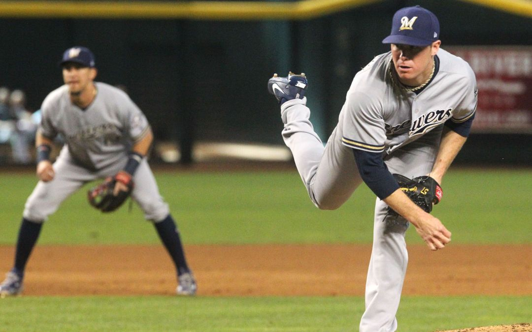 Brewers' Chase Anderson throws well again vs. old team