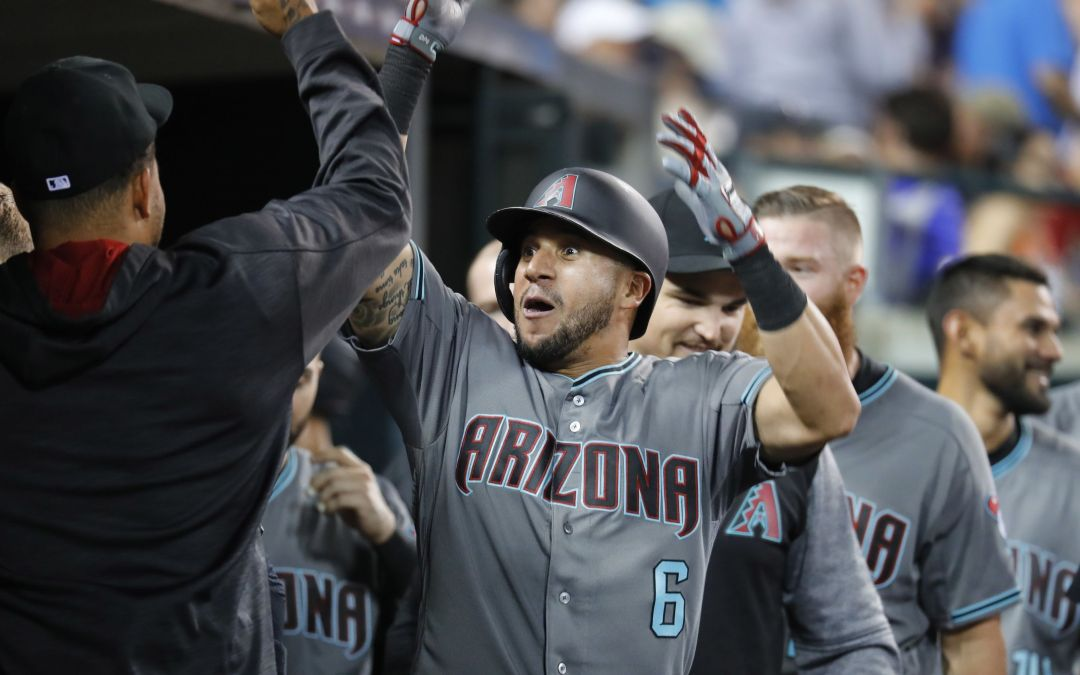 David Peralta powers up as Diamondbacks escape with win over Tigers