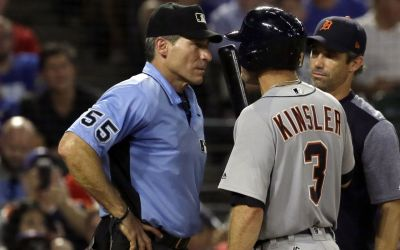 MLB umpires protesting 'escalating verbal attacks'