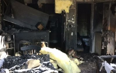 Dozen residents displaced, dog killed in Phoenix apartment fire