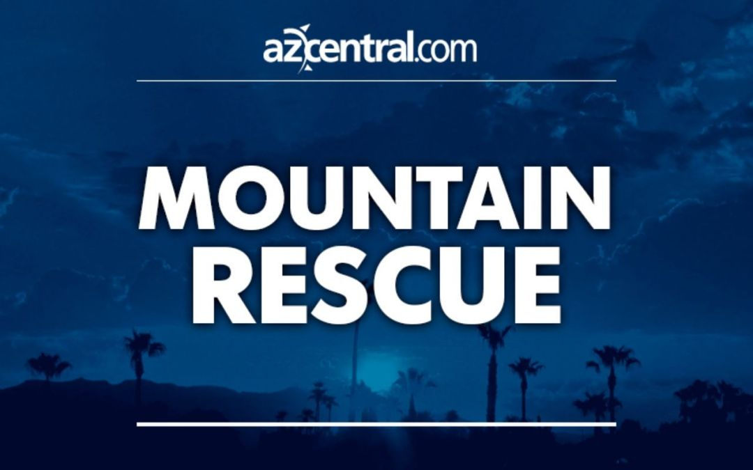 Phoenix firefighters rescue lost hikers on Camelback Mountain