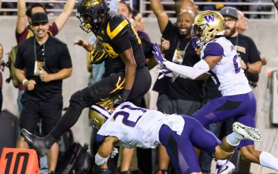 Junior college transfer Ceejhay French-Love blooming as ASU tight end