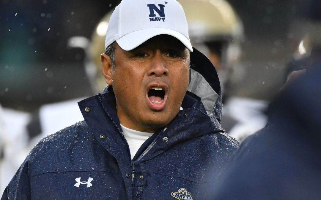 Navy's Ken Niumatalolo offered Arizona job, according to source
