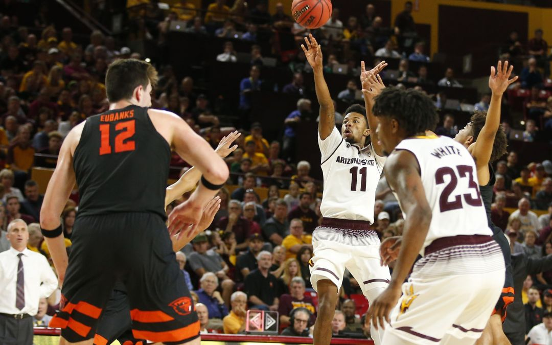 Shannon Evans leads ASU basketball's comeback to beat Oregon State