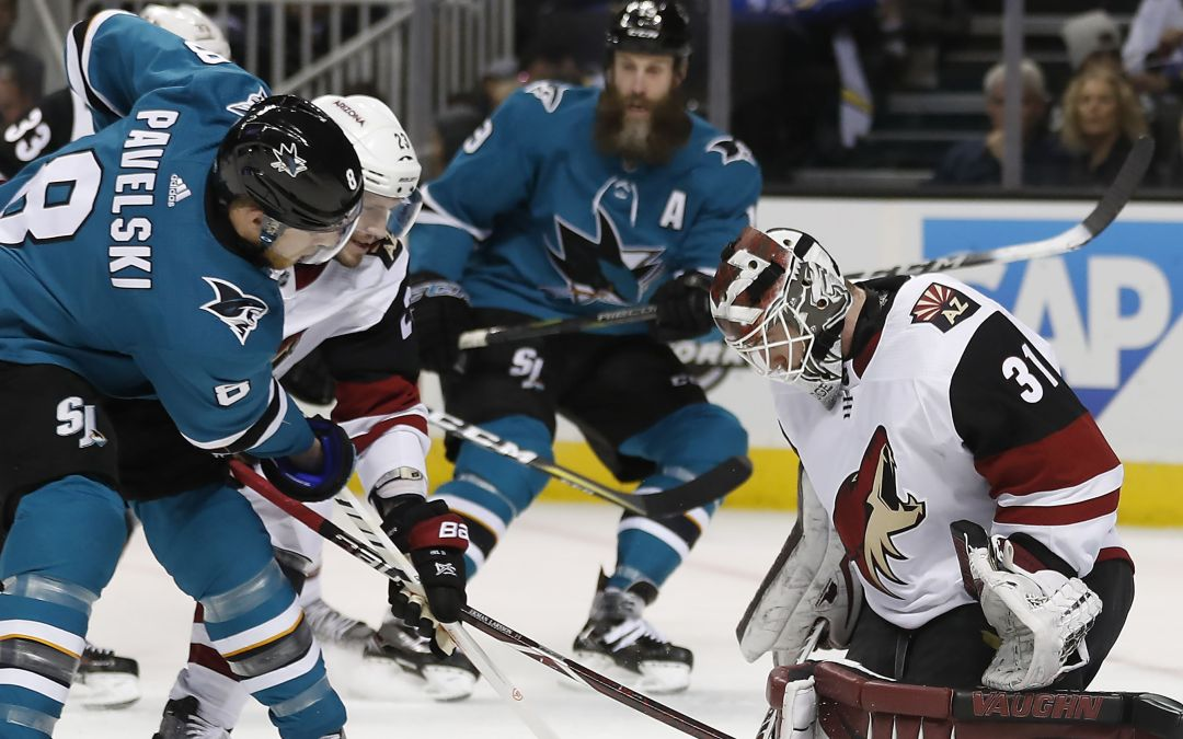 Arizona Coyotes lose lead with 15 seconds left, fall in overtime to San Jose Sharks