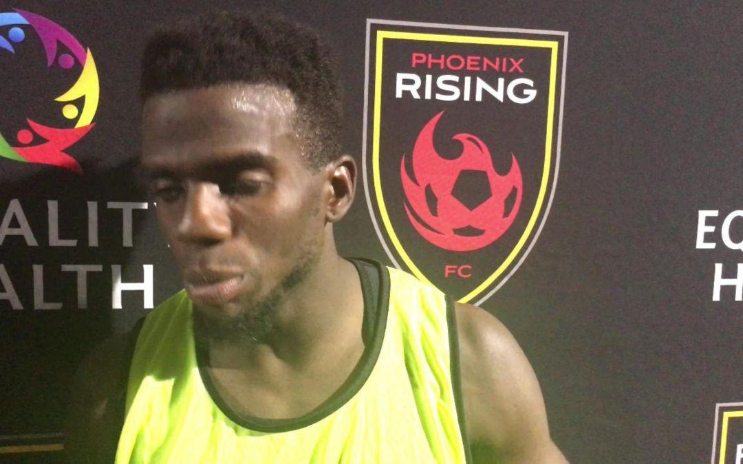Jason Johnson on Phoenix Rising's win