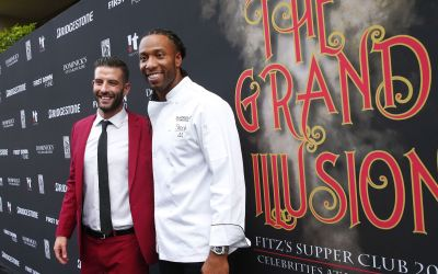 Cardinals' Larry Fitzgerald's Supper Club charity celebrates 10 years