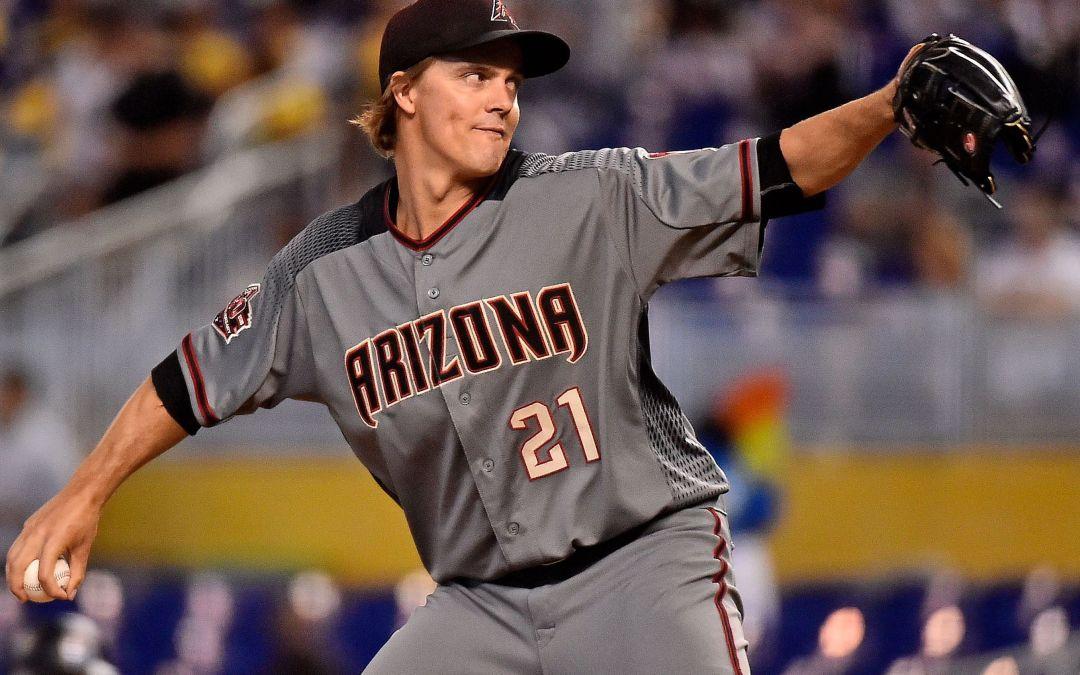 Diamondbacks pitcher Zack Greinke added to National League All-Star Team