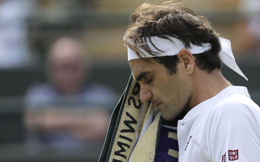 Roger Federer is upset by Kevin Anderson in quarterfinals