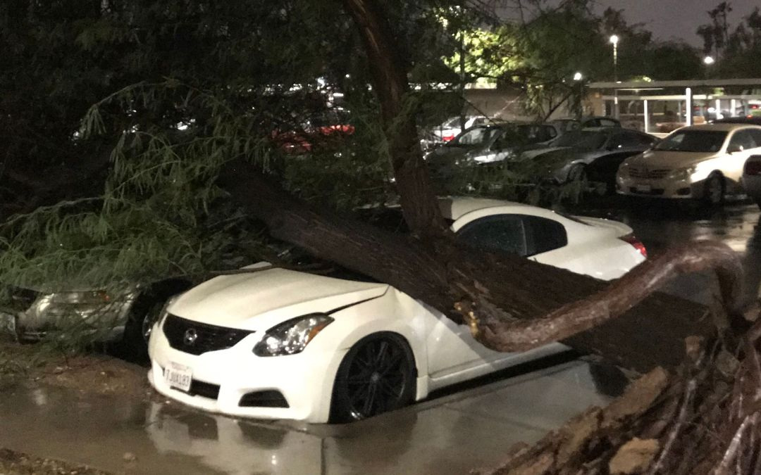 Monsoon storm takes aim on part of Phoenix area again