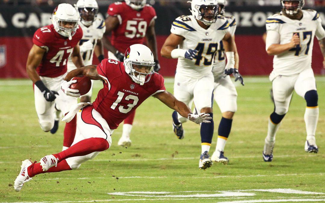 Arizona Cardinals rookie Christian Kirk NFL debut vs. Chargers
