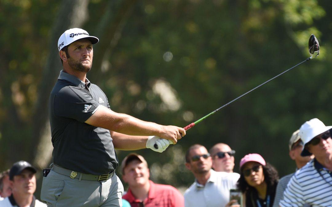 Newly engaged Jon Rahm in hunt early at PGA Championship