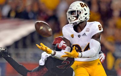 Receiver Frank Darby becoming trusted deep threat