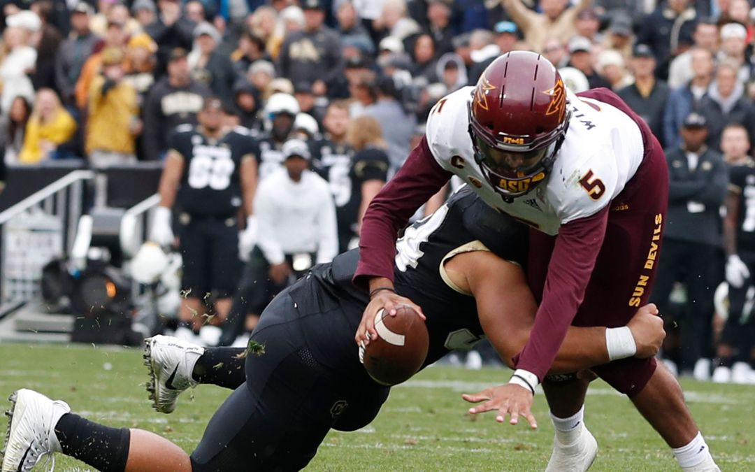 ASU QB Manny Wilkins, WR N'Keal Harry miss practice but are expected to go against Stanford