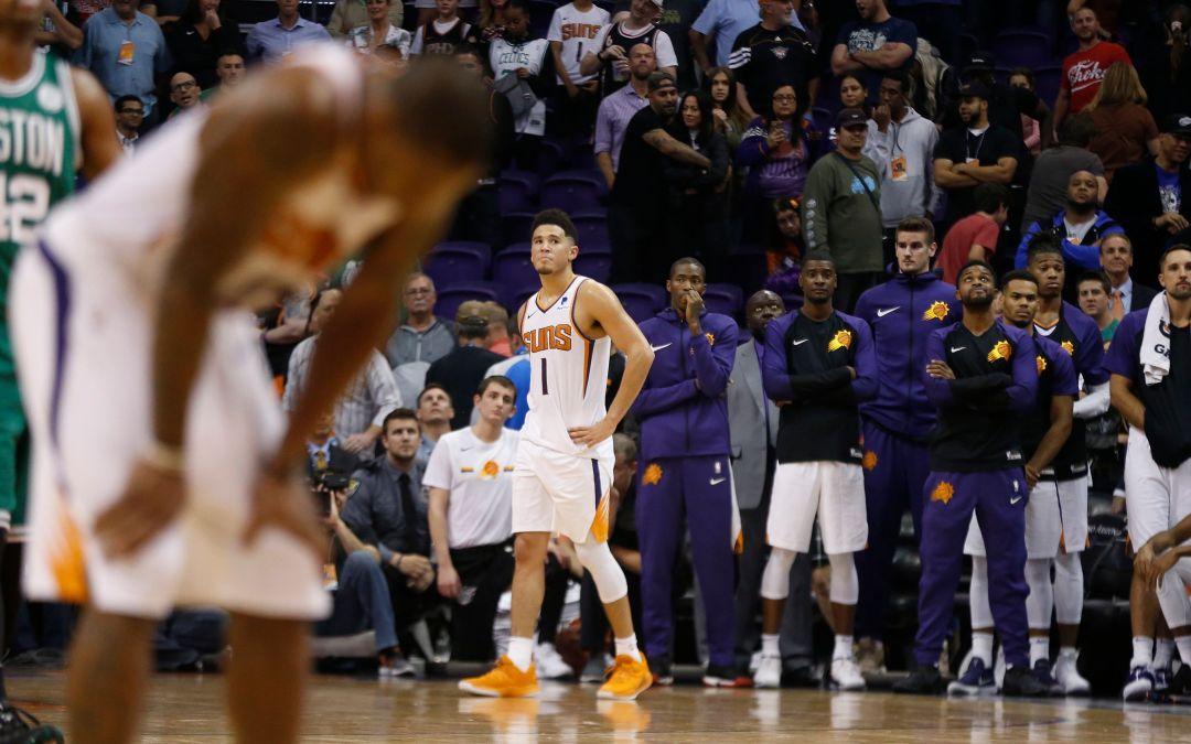 Phoenix Suns shocked by collapse against Boston Celtics