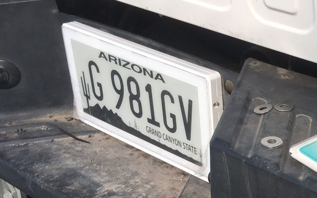 Digital license plates allowed on Arizona roads after ADOT