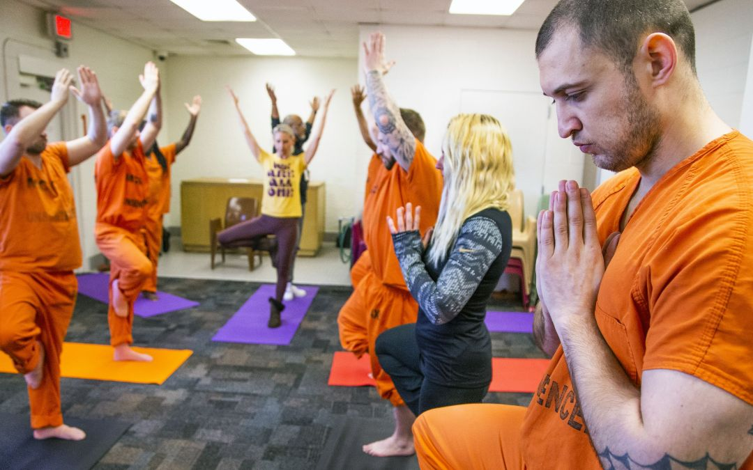 Incarcerated Arizona veteran use yoga to prepare for life after jail