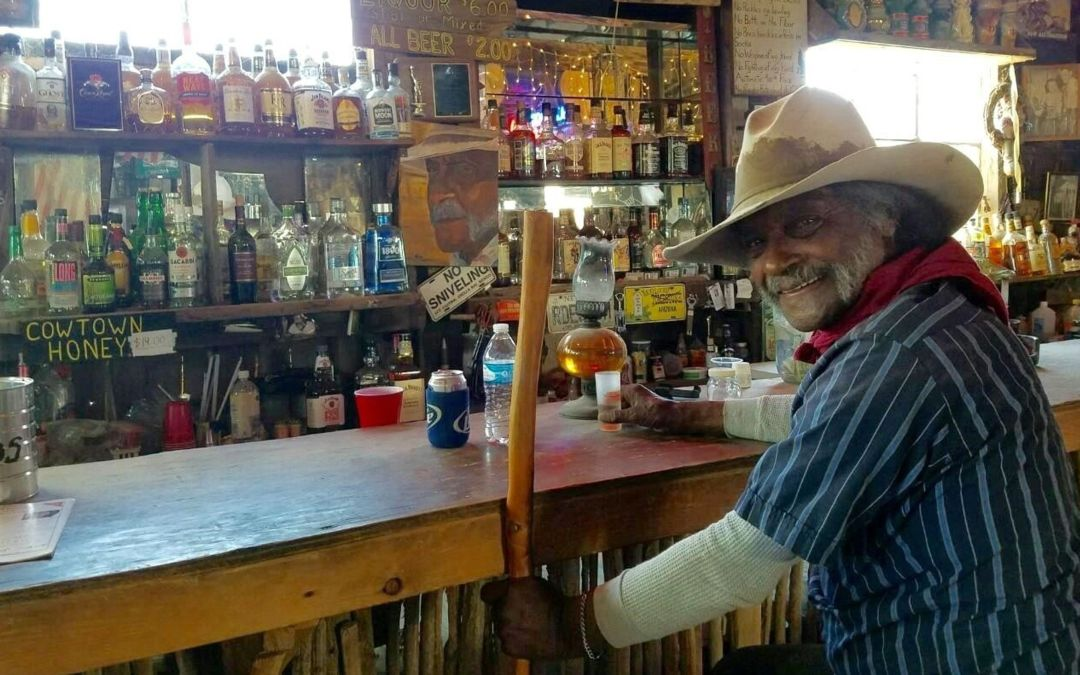 Ed Keeylocko built a Western town. What happens now that he's gone?