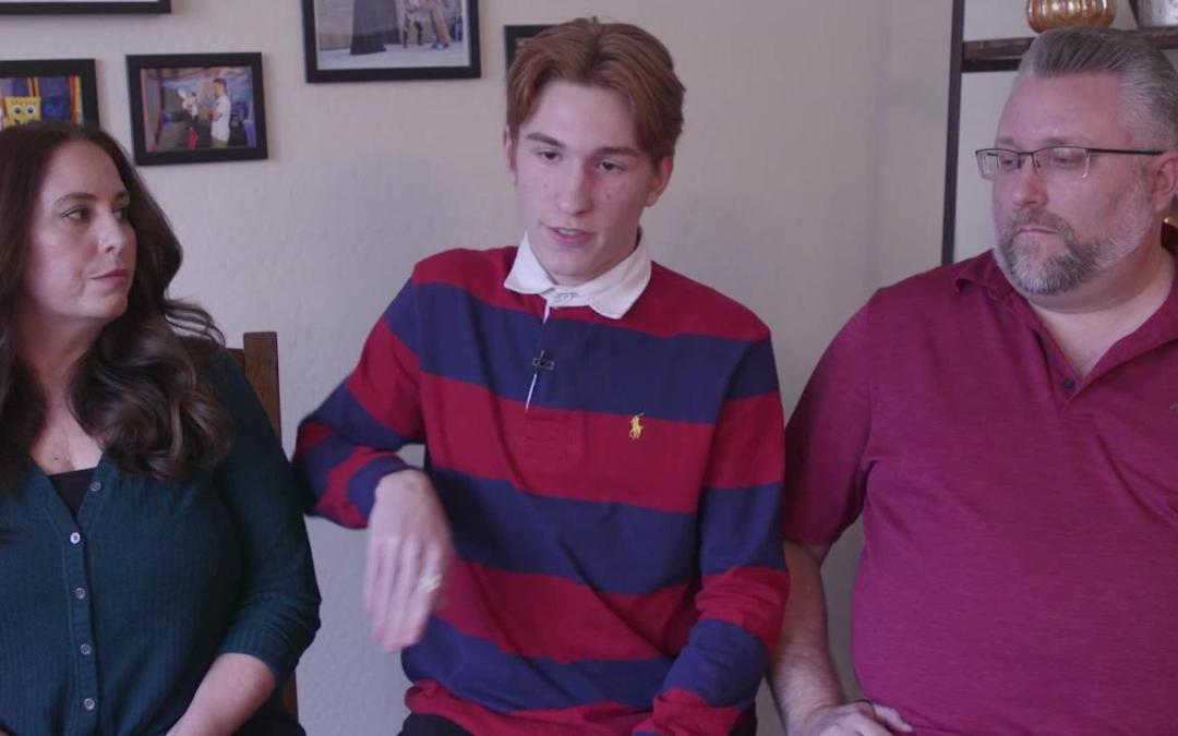 American Leadership Academy Queen Creek student says he was strip