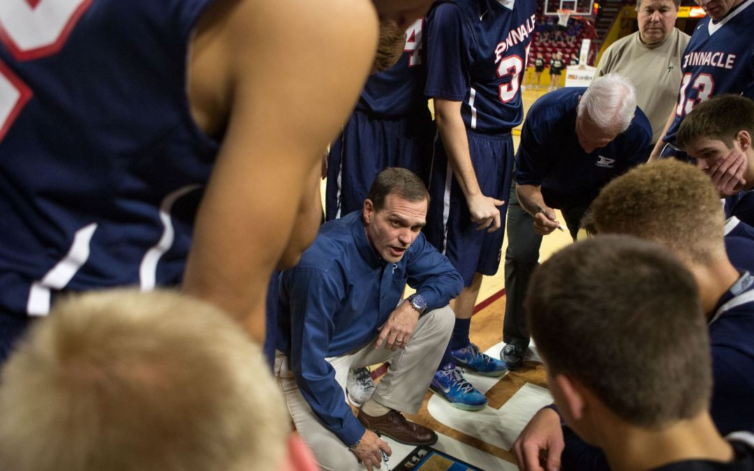 Pinnacle's Charlie Wilde named Boys Basketball Coach of the Year