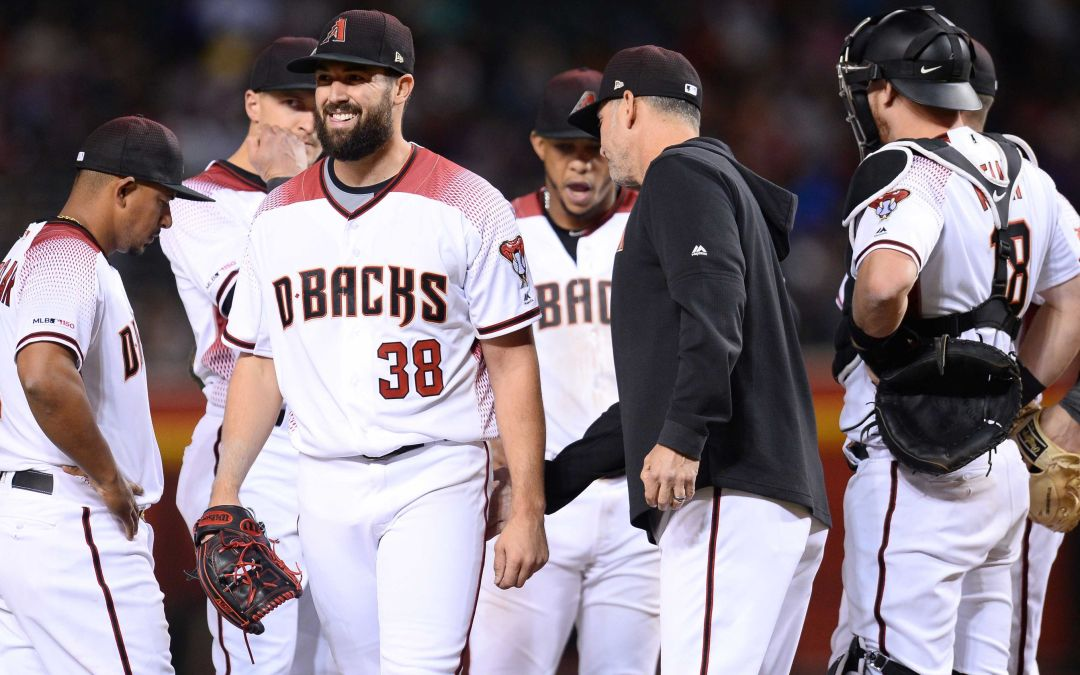 Arizona Diamondbacks pitcher Robbie Ray continues to be an enigma