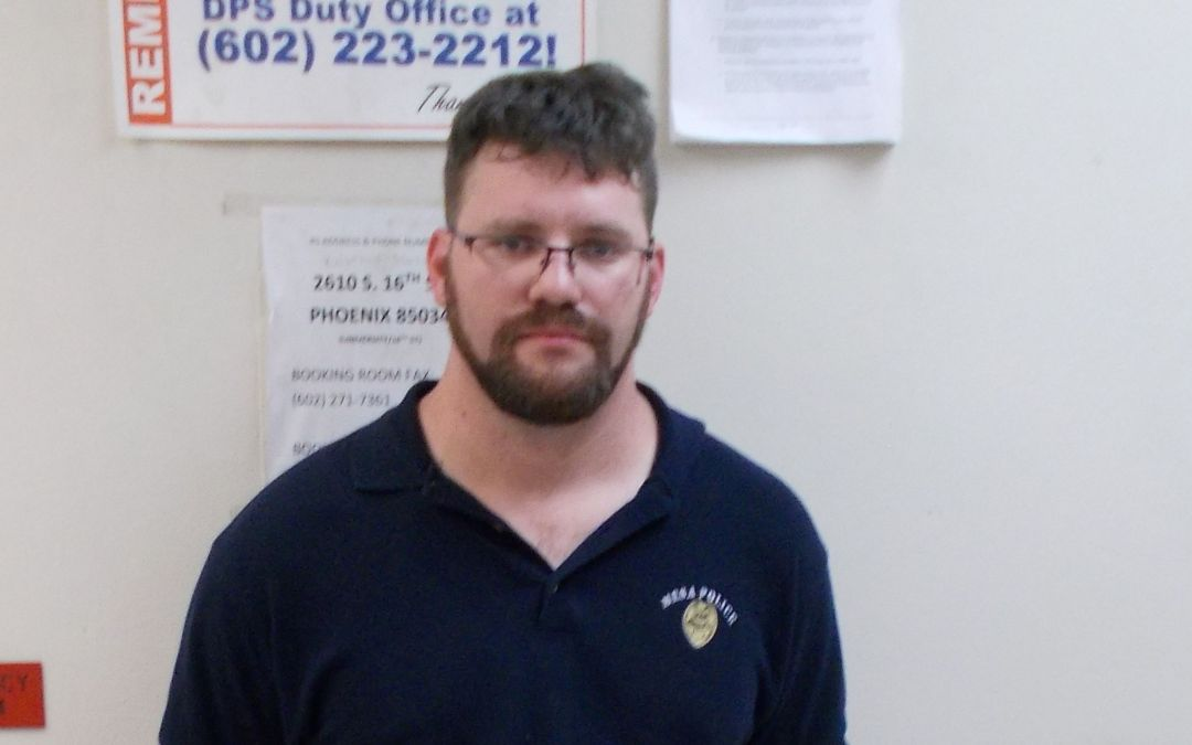Man arrested on suspicion of impersonating a Mesa police officer