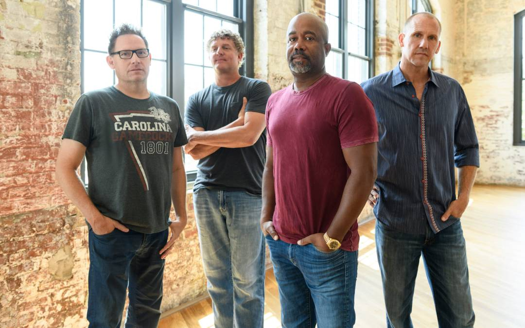 'Cracked Rear Two?' Hootie & the Blowfish are back and enjoying a moment