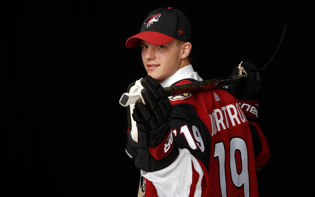 Victor Soderstrom Arrives At Coyotes Prospect Camp Integrity