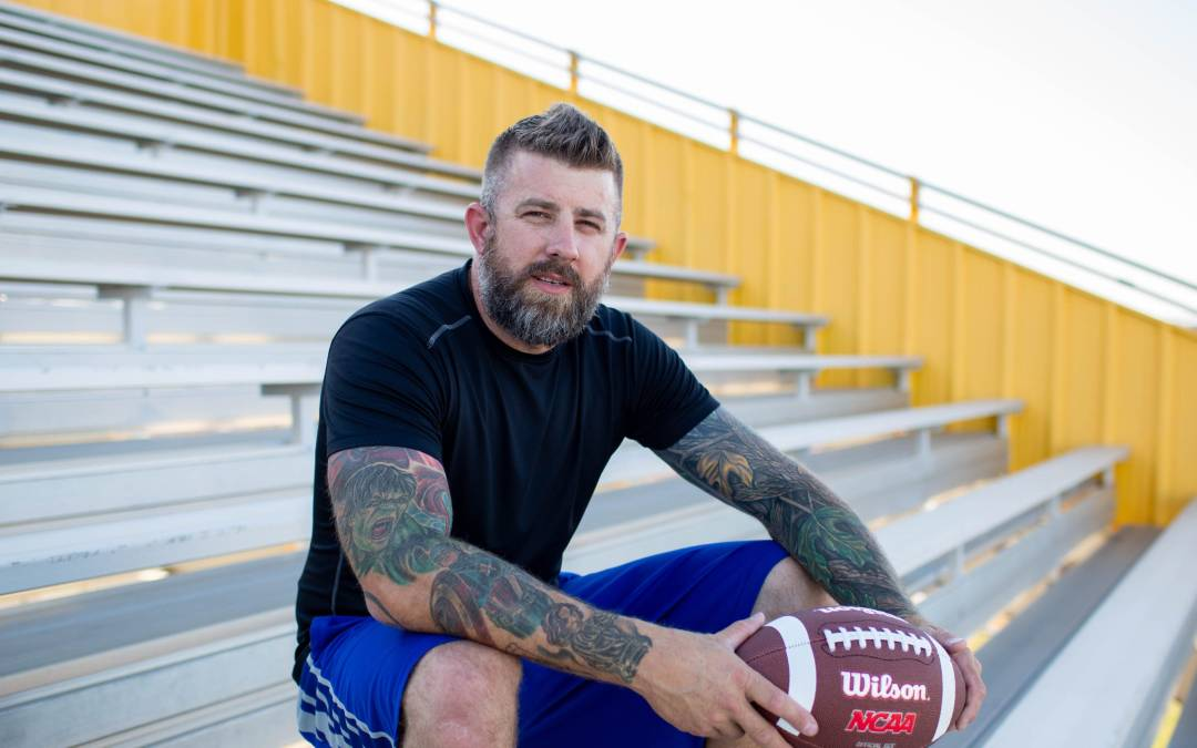 Phoenix man tries JUCO football at 37