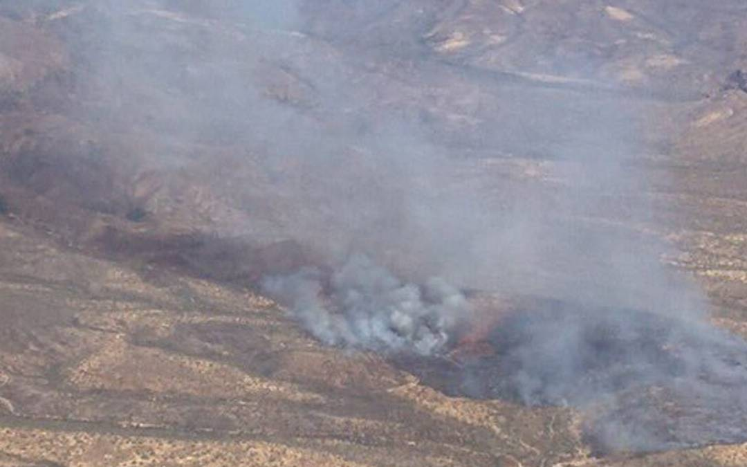 Central Fire burns about 250 acres east of I-17, between Anthem and New River