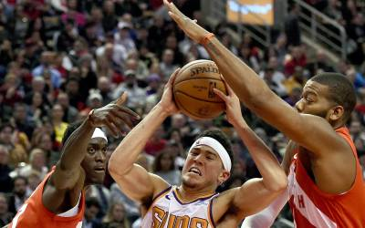 Suns' Devin Booker should get used to double teams, even in open gyms