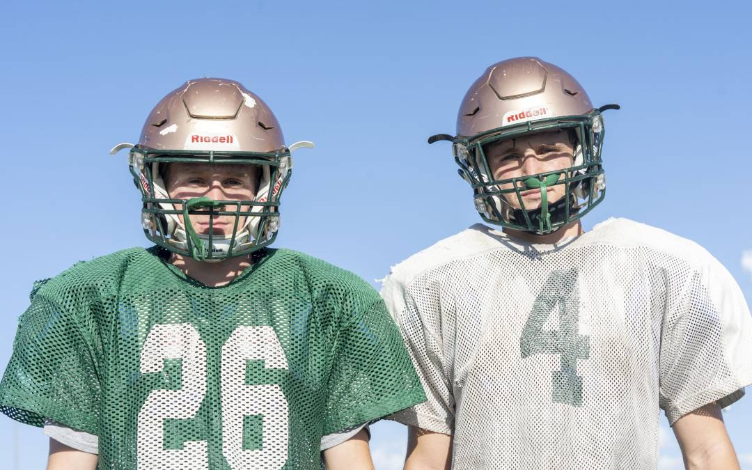 Calloway brothers running with Campo Verde offense