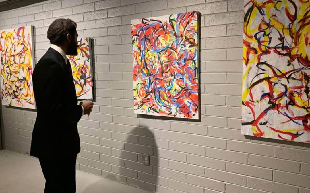 David Bessent's artwork showed in downtown Phoenix exhibit